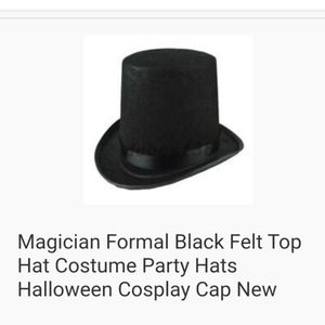 Other - Black Top Hat Party Hats! I have 7